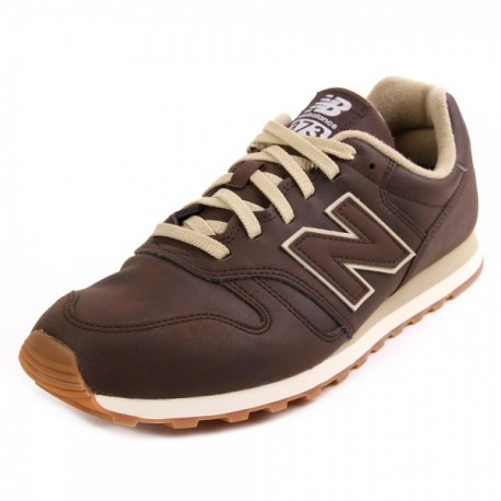 zapatillas new balance ml 373 leather marrón